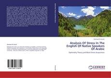 Buchcover von Analysis Of Stress In The English Of Native Speakers Of Arabic