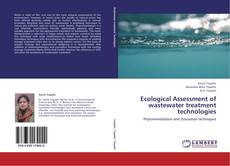 Buchcover von Ecological Assessment of wastewater treatment technologies