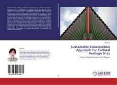 Bookcover of Sustainable Conservation Approach for Cultural Heritage Sites