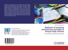 Обложка Methods of teaching evolutionary concepts in Kenyan high schools