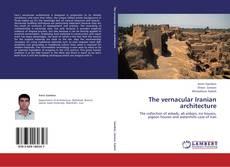 Portada del libro de The vernacular Iranian architecture