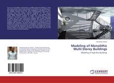 Buchcover von Modeling of Monolithic Multi-Storey Buildings