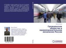 Обложка Гражданское общество в правоохранительном механизме России
