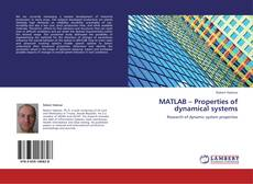 Buchcover von MATLAB – Properties of dynamical systems