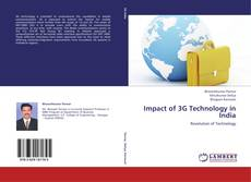 Bookcover of Impact of 3G Technology in India