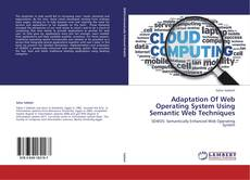 Couverture de Adaptation Of Web Operating System Using Semantic Web Techniques