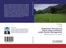 Bookcover of Population Structure of Oryza sativa Landraces under Farmer Management
