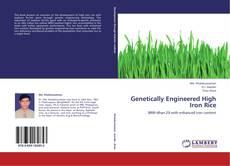 Genetically Engineered High Iron Rice kitap kapağı