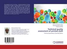 Bookcover of Technical quality assessment of printed cloth