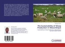 Couverture de The Sustainability of Sheep Production in Mozambique