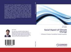 Bookcover of Social Aspect of Climate Change