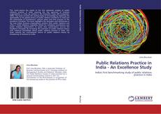 Public Relations Practice in India - An Excellence Study kitap kapağı