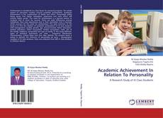 Bookcover of Academic Achievement In Relation To Personality