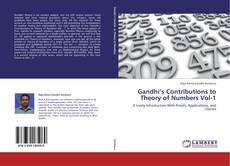 Gandhi's Contributions to Theory of Numbers Vol-1 kitap kapağı