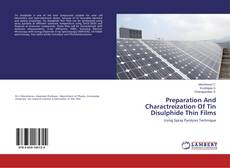 Bookcover of Preparation And Charactreization Of Tin Disulphide Thin Films
