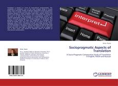 Bookcover of Sociopragmatic Aspects of Translation