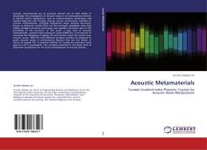Bookcover of Acoustic Metamaterials