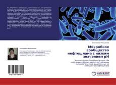 Copertina di Микробное сообщество нефтешлама с низким значением рН