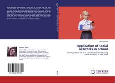 Bookcover of Application of social networks in school