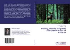 Buchcover von Poverty, Income Inequality and Growth Nexus in Pakistan