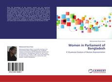 Bookcover of Women in Parliament of Bangladesh