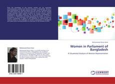 Buchcover von Women in Parliament of Bangladesh