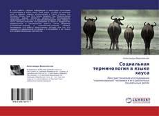 Bookcover of Социальная терминология в языке хауса