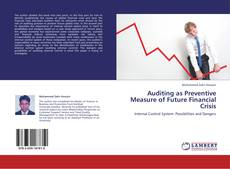 Auditing as Preventive Measure of Future Financial Crisis的封面