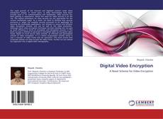 Bookcover of Digital Video Encryption