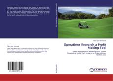 Bookcover of Operations Research a Profit Making Tool