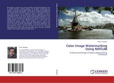 Buchcover von Color Image Watermarking Using MATLAB