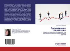 Buchcover von Оптимальное управление