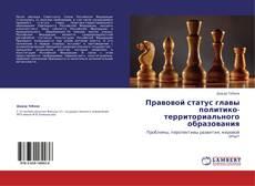 Bookcover of Правовой статус главы политико-территориального образования
