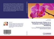 Bookcover of Socio-Economic Status as a Predictor of Psychological Wellbeing