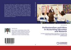 Copertina di Professionalism and Ethics in Accounting Education and Research