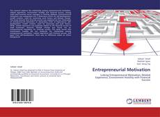 Bookcover of Entrepreneurial Motivation