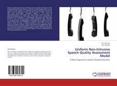 Обложка Uniform Non-Intrusive Speech Quality Assessment Model