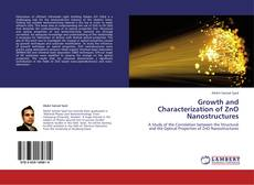Copertina di Growth and Characterization of ZnO Nanostructures