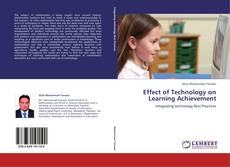 Capa do livro de Effect of Technology on Learning Achievement