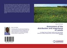 Portada del libro de Assessment of the distribution and importance of weeds