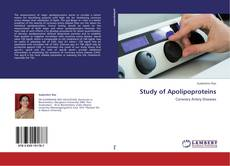 Couverture de Study of Apolipoproteins