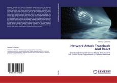 Portada del libro de Network Attack Traceback And React