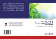 Capa do livro de Nirgundi taila: A Pharmaceutico Chemical Evaluation