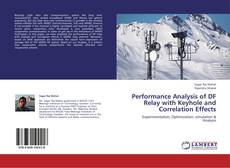 Portada del libro de Performance Analysis of DF Relay with Keyhole and Correlation Effects