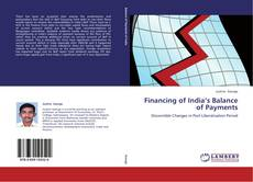 Bookcover of Financing of India's Balance of Payments