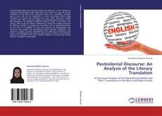 Обложка Postcolonial Discourse: An Analysis of the Literary Translation