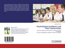 Psychological problems and their relationships kitap kapağı