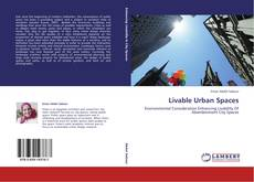 Bookcover of Livable Urban Spaces