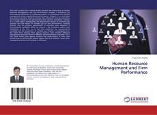 Copertina di Human Resource Management and Firm Performance
