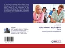 Bookcover of Validation of High School Tests